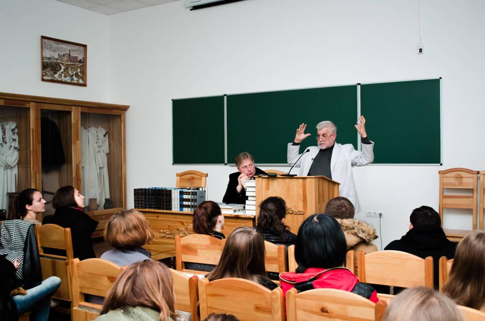 Лесь Танюк в Острозькій академії